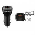 Tomtom HIGH SPEED DUAL CHARGER (Automatically detects how to charge the connected device as fast as possible. Charges up to 4 x