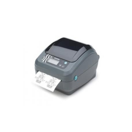 Zebra GX Series GX420d - Label printer - thermal paper - Roll (10 8cm) -  203 dpi - up to 152 mm/sec - USB, LAN, serial - peeler