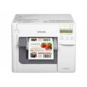Epson TM-C3500 (Desktop-Etikettenfarbdrucker, Ethernet-Schnittstelle 100 Base-TX/10 Base-T, USB 2.0 Typ A, inkl. Netzteil, Treib