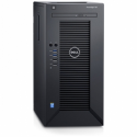Dell PowerEdge T30 Tower, Intel Xeon, E3-1225, 3.3 GHz, 6 MB, 4C, 8 GB, UDIMM DDR4, 2133 MHz, 1000 GB, No OS, Warranty - Basic N