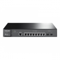 Tp-link T2500G-10TS JetStream 8-Port Gigabit L2 Lite Managed Switch with 2 SFP