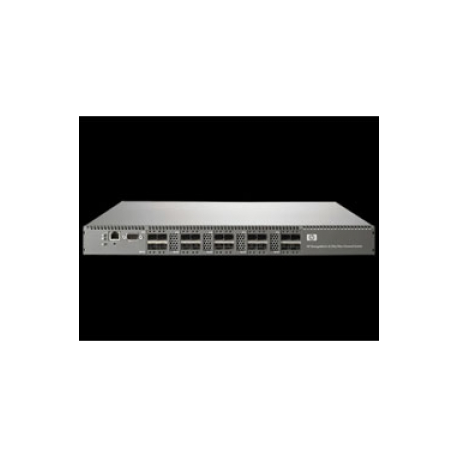 HPE 8 / 20q Fibre Channel Switch - Switch - Managed - 16 x 8Gb Fibre  Channel SFP+ - rack-mountable