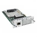 Cisco 1 PORT MULTIFLEX TRUNK VOICE/ (CLEAR-CHANNEL DATA T1/E1 MODULE  IN)