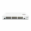 Mikrotik Cloud Router Switch CRS125-24G-1S-IN (Qualcomm Atheros AR9344 600MHz, 128MB RAM, 128MB NAND, 24x1GbE RJ45, 1x1GbE SFP,