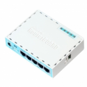 Mikrotik hEX RouterOS L4 64MB RAM, 5xGig LAN, Soho Router, PoE in, plastic case