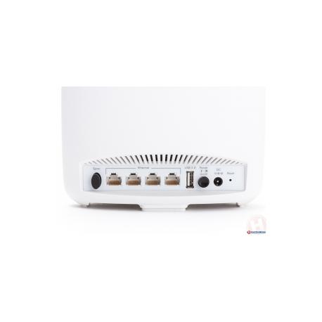 NETGEAR Orbi WiFi System RBK50 - Wireless router - 3-port switch - GigE -  802 11a / b / g / n / ac - Tri-Band
