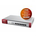 Zyxel USG110UTMBDL (Firewall Appliance 10/100/1000, 4x LAN/DMZ, 2x WAN, 1xOPT UTM Bundle AS,AV,CF,IDP)