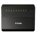 D-link ADSL/Ethernet Router with Wireless N150, ADSL: 1 RJ-11 port, LAN: 4 RJ-45 10/100BASE-TX Fast Ethernet ports with auto-MDI