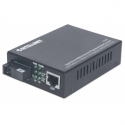 Intellinet Media converter WDM 10/100/1000Base-TX (RJ45) / 1000Base-LX (SM SC)
