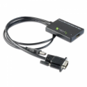 Techly SVGA with USB audio to HDMI converter