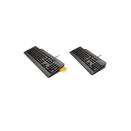 c87817139 Lenovo Smartcard - Keyboard - USB - English - US - black - for S510   ThinkCentre M900  Thinkpad 13  ThinkPad E47X  E57X  X1 Yoga  ThinkStation  P410  P510