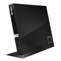 Asus SBC-06D2X-U  External Slim Blu-ray Drive,  Black, BDXL support, 6X Blu-ray reading speed, USB 2.0