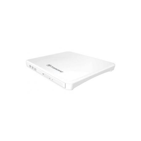 Transcend 8X DVD SLIM TYPE USB WHITE DVDR 24X CD R