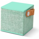 Hama FRESHN REBEL Rockbox Cube Fabriq Edition Bluetooth Speaker Peppermint