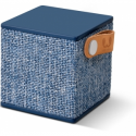 Hama FRESHN REBEL Rockbox Cube Fabriq Edition Bluetooth Speaker Indigo