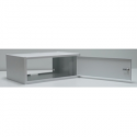 Apra NET ecoVARAnd LC Wall-mounted cabinet  19'' 4.5U/350mm, one section, metal d