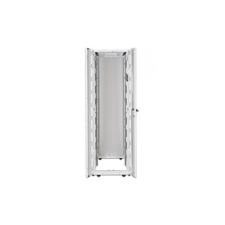 APC NetShelter SX Deep Enclosure with Sides - Rack - white - 42U - 19