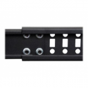 Startech 12U SERVER RACK - OPEN FRAME (12HE 4 Pfosten Open Frame Server Rack tiefenverstellbar mit Rollen / Nivellierfuesse und
