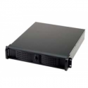 Fantec TCG-2811X43W-1 2HE 528MM 400W (2X5.25IN und 2X3.5IN OPEN BLACK    ML)