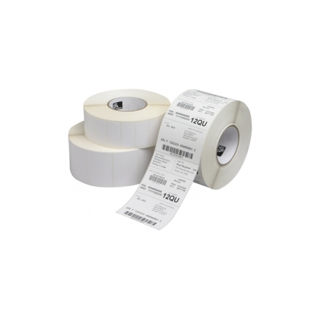 Zebra Z-Perform 1000T - Labels - paper - permanent adhesive - 32 x 13 mm  55800 label(s) (12 roll(s) x 4650)