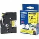 Brother TZ-EFX631, 12mm black on yellow flexible tape