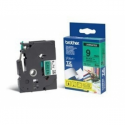 Brother TZ-E721, 9mm black on green tape