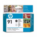 HP 91 Photo Black & Light Grey Printhead