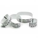 Zebra Z-Band Direct Adult Size - Polypropylene adhesive wristbands - 25.4 x 279.4 mm - 175 pcs. - for Zebra HC100 Patient I.D. S