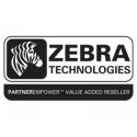 Zebra ZBAND SPLASH S4M/DESK RED 4R/B 1ROLL=350BANDS 25X254MM
