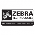 Zebra ZBAND SPLASH S4M/DESK YELLOW 4 R/B 1ROLL=350BANDS 25X254MM