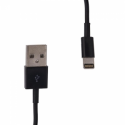 Whitenergy Cable USB 2.0 for iPhone 5  transfer/charging 30cm black
