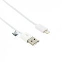 4world Cable USB to Lightning | iPhone 5/iPad 4/iPad mini | 1.0m | white