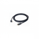 Gembird 90 degrees HDMI male-male cable with gold-plated connectors 3m
