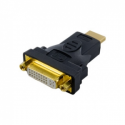 4world Adapter HDMI - DVI M/F