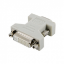 4world Adapter DVI - VGA F/M