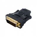 4world Adapter HDMI [F] > DVI-D [M] (24+1), black