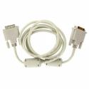 4World monitor cable, DVI-D (18 +1) - DVI-D (18 +1) M / M 3m, SL ferrite - Retai