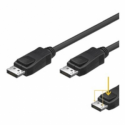 ACC Display Port Cable, 2x 20-pin male, double shielded, black, 2M