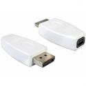 Delock adapter Displayport male > Displayport mini female