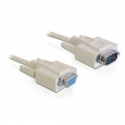Delock transmission cable DB9F/DB9M 2m