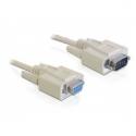 Delock transmission cable DB9F/DB9F 1m