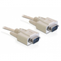 Delock Cable RS-232 serial Sub-D9 male / male 3m