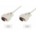 Assmann RS232 Connection Cable DSUB9 M (plug)/DSUB9 M (plug) 2m beige