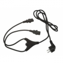 Gembird ''Y''  power cord 6ft