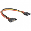 Gembird extention cable power SATA 15pin (M) -> SATA 15pin (F) 50cm