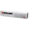 Intellinet Patch Panel 19'' 24 ports UTP Cat5e, Black