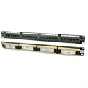 Logilink - Patch panel UTP CAT6 24-ports black