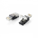 Equip RJ45 CONNECTOR UTP CAT.6 (Phosphor bronze, nickel plated,For use with 24-26AWG Stranded and Solid UTP wire.Supports both T