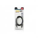 Natec Toslink optical cable, black, 1 m, blister