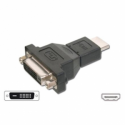 AB 556, adapter HDMI male - DVI-D female adapter